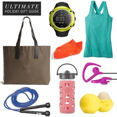 The Ultimate Gift Guide For Fitness and Health - Working on a gift idea for my mom, sis, and daughter's teacher! All are on the fitness kick!
