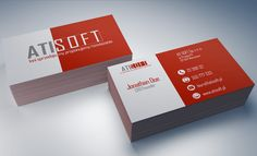 AtiSoft Business Cards - project #2