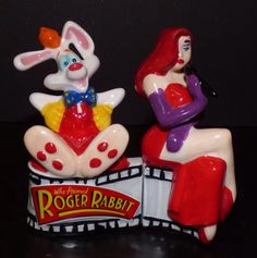 Roger and Jessica Rabbit salt and pepper shakers. ❣Julianne McPeters❣ no pin limits