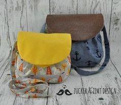 Eine tolle Handtasche für Frauen - Schnittmuster und Nähanleitung via Makerist.de