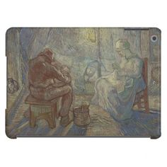 Night after Millet by Vincent Van Gogh Cover For iPad Air