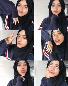 20 Ideas For Fitness Wallpaper Style Update foto cewek Hijab cantik Casual Hijab Outfit, Ootd Hijab, Girl Hijab, Style Fitness, Fitness Design, Mode Ulzzang, Photography Poses Women, Girl Photography, Arab Fashion