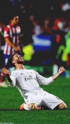 Sergio Ramos após conquista da la décima