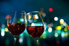 Bokeh + Wine glasses!