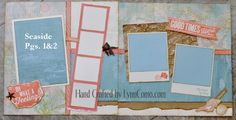 layout by Lynn Como using CTMH Seaside paper