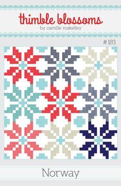 Norway- Thimble Blossoms pattern 183 PDF pattern