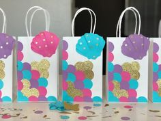 Birthday Party Options – Creative Birthday Party Ideas That Works 6th Birthday Parties, Birthday Diy, Birthday Party Favors, Birthday Party Decorations, Girl Birthday, Mermaid Theme Birthday, Little Mermaid Birthday, Little Mermaid Parties, Mermaid Baby Showers