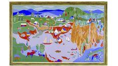Alfred Pellan, Peinture représentant l'est du Canada