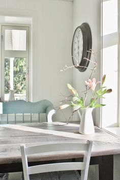Dining room | White | Soft Blue