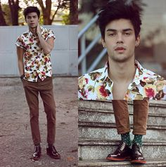 Get this look: http://lb.nu/look/6513968 More looks by Vini Uehara: http://lb.nu/viniuehara Items in this look: Soxy Socks, Guidomaggi Shoes, Stark Street Clothing Shirt