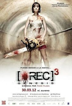 Movie poster for REC 3: Genesis. Check out my review at the link!