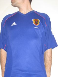 1c55b3de7 Japanese National Team - 2002 - A replica of what Japan wore during their  surprising knockout. Football JerseysSoccer ...