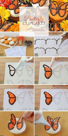 Get the Recipe ♥ Butterfly Cupcakes #recipes @recipes_to_go