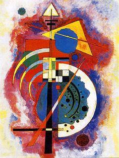 """Hommage à Grohmann""                           Vassili Kandinski (1866-1944), 1919.   This is one of my favorite Kandinsky's!!"