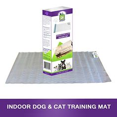 Pet Training Shock Mat x Indoor Electronic Static Training Mat Will Correct Your Dog or and Cat Behaviour and Keep Them Off The Sofa, Benches, Tables and Away From Restricted Areas. -- Learn more by visiting the image link.