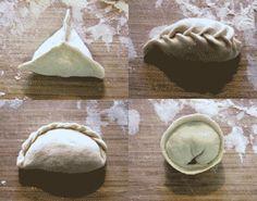 Ways to fold dumplings. crazy dumplings Chinese dumplings jiaozi www.twoamericansinchina.com