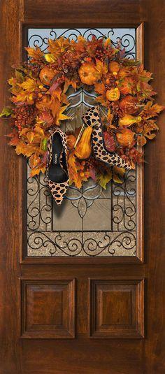 Fall decorating for http://ift.tt/1jlwaDq