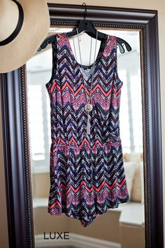 Pretty Summer Rompers can be dressed up for a nice BBQ or dressed down for you day at the beach. It's a one and done outfit!