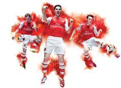 Arsenal 2014-15 Puma Home