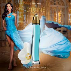 ¡Todas llevamos una #diva dentro! Déjala salir usando una fragancia irresistible como #Divine, elaborada con violetas, almizcle y sándalo. #Fragancia #OriflameMX