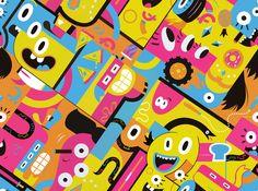 4 Nickelodeon Patterns on Behance