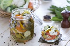 Giardiniera Thing 1, Antipasto, Pickles, Cucumber, Food And Drink, Vegan, Canning, Vegetables, Recipes