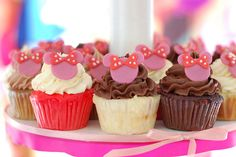 Halle's Minnie Mouse Birthday Party! by Yummy Piece of Cake, via Flickr