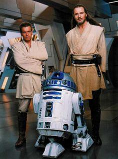 Qui Gon Jin, Obi-wan Kenobi and R2 D2