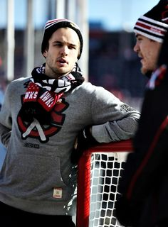 1.1.15 - Hammer and Shaw chat before the game