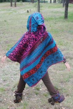 Yak Wool Hooded Poncho - Shawl Elven Hood Hippie Travel Gypsy Elf Fairy Pixie Bohemian by UbuntuThreads on Etsy Poncho Shawl, Hooded Poncho, Wool Poncho, Pixie, Elf, Gypsy, Hoods, Fairy, Bohemian