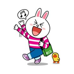 Cony Helloooo Line Cony, Cony Brown, Cute Characters, Fictional Characters, Cartoon Stickers, Line Friends, Line Sticker, Emoticon, Smurfs
