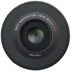 SMC Pentax-DA 40mm f/2.8 XS Prime Lens: Designed by Marc Newsom, the creator of the award winning Pentax K-01.