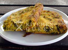 καλαμποκόπιτα με σπανάκι και τυρί