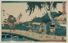 Utagawa Hiroshige Title:Act VI (Rokudanme), from the series The Storehouse of Loyal Retainers (Chûshingura)   Date:1843-47
