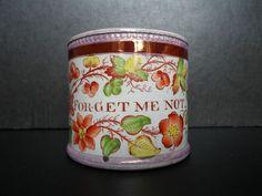 Sunderland Pink Lustre - Forget Me Not - Mug, circa 1820