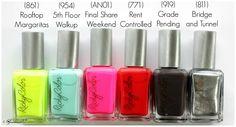 @rickysnyc RickyColor Nail Polish Collection Swatches, Review, Pictures | via @glamorable #bbloggers #beauty #nails #manicure #nailpolish #nyc #nycstyle #newyork #3free #nailvarnish #manicuremonday #manimonday #polished