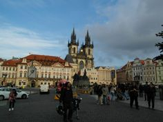 Old Town Square—Starometske Namesti Prague Old Town, Top Site, Old Town Square, Walking Tour, Barcelona Cathedral, Travel Destinations, Old Things, Tours, Road Trip Destinations