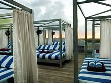 Soho Beach House Miami, winner of the Fodor's 100 Hotel Awards for the New Noteworthy category Soho House, Soho Beach House Miami, Beach House Hotel, Miami Pictures, Gazebo Pergola, New Property, Coastal Homes, Hotel Reviews, Hotels And Resorts
