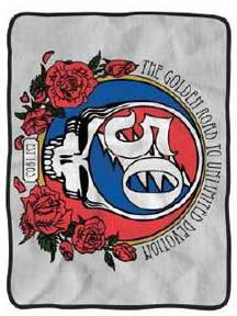 Blanket Fleece Grateful Dead 50th Anniversary