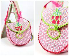 Ebook Schnittmuster Taschenset Frühling Nähen einer Schultertasche Kindergartentasche