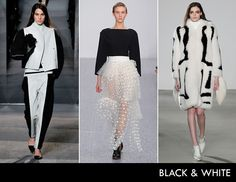 Top Fall Trend: Black & White