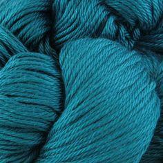 Cascade Yarns Ultra Pima Yarn: Cascade Yarns Ultra Pima Knitting Yarn at Webs  // for the love of teal...beautiful!  100% cotton | machine washable