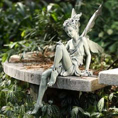 Our fairy statues make fine fairy gifts and serve well as delightful fairy decor for the home and garden.