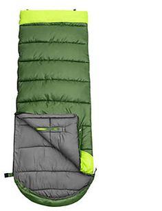 Sovepose Rektangulær sovepose Enkel 10 Hul Bomuld 460g 180X30 Vandring / Camping / Rejse / Udendørs / IndendørsFugtsikker / Vandtæt /