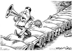 Zapiro: Malema - The Mail & Guardian Cartoons, African, Hero, South Africa, Rocks, Politics, Image, Cartoon, Cartoon Movies