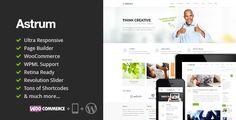 Astrum - Responsive Multi-Purpose WordPress Theme