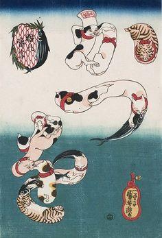 愛知県名古屋市で開催! 「いつだって猫展」で江戸時代の猫達に会ってきた | マイナビニュース