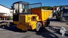 Verkauf DUMEC Tunneldumper Typ DP5000 gebrauchter Raddumper 4x4x4 Allradlenung Hydrostatischer Kipper Verkaufe #Tunneldumper #Dumec #Mining #Machines #Bilder DP 5000