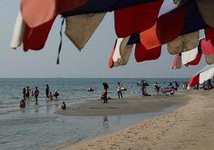 Bangsaen beach Thailand