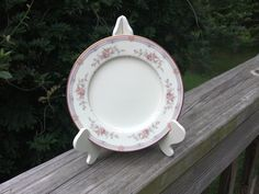 Noritake China Bread and Butter Plate Wedding Reception